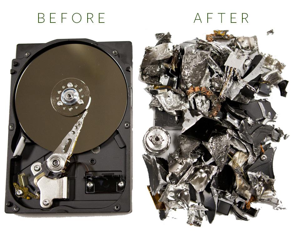 Hard Drive Destruction | Mobile Record Shredders
