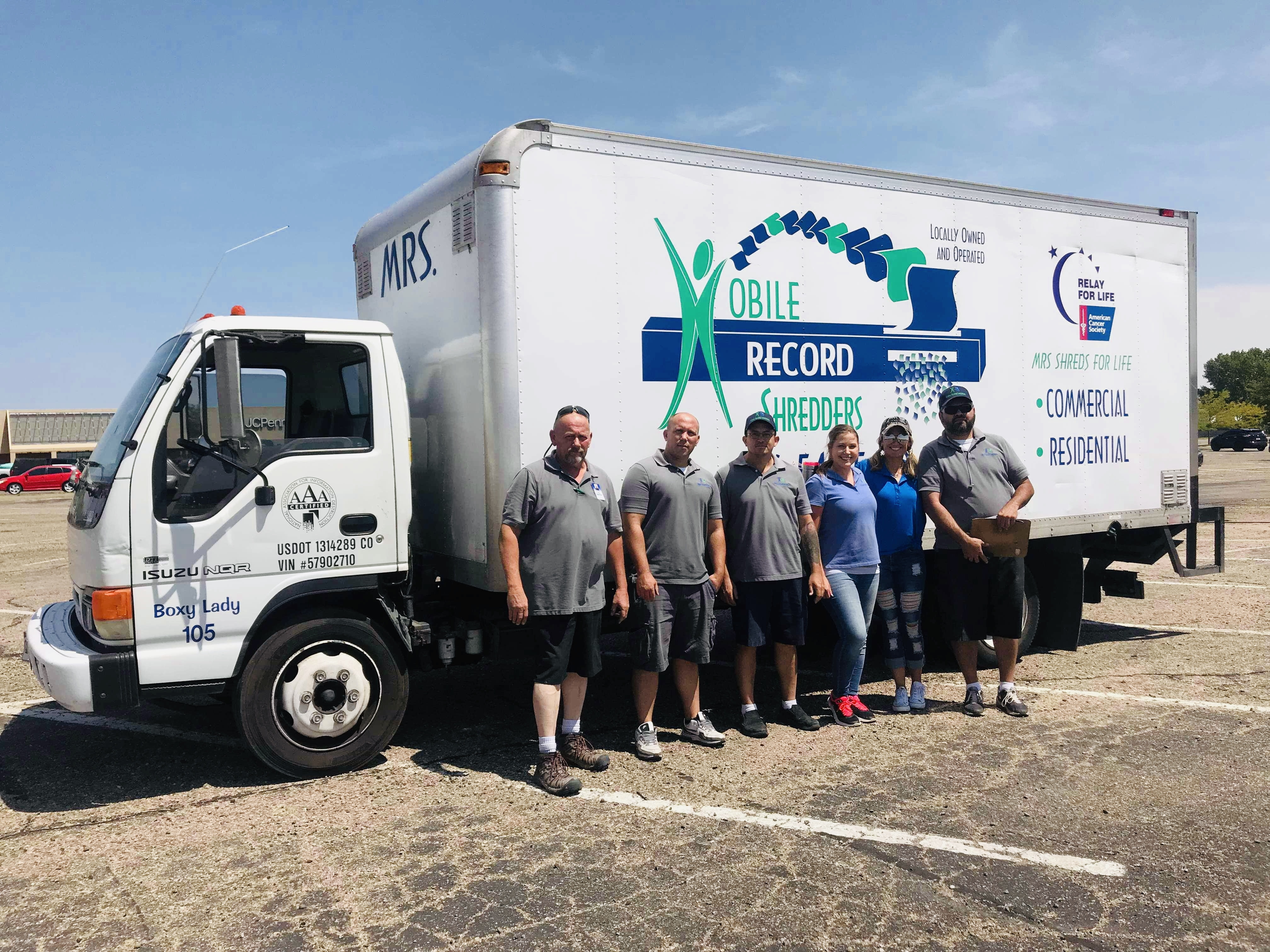 2019 Free Community Shred Events | Mobile Record Shredders